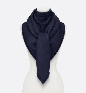 Christian Dior Stola blu scuro