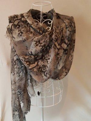 Écharpe noir-gris