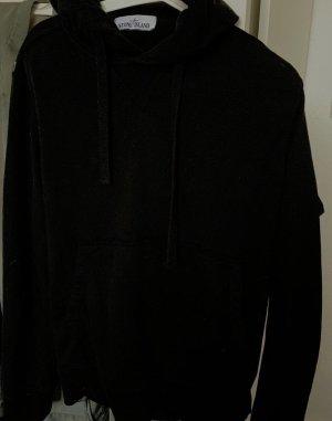 Stone Island Jersey con capucha negro