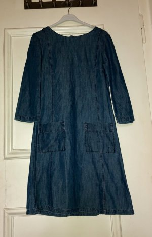 Stone washed Jeans Style Kleid