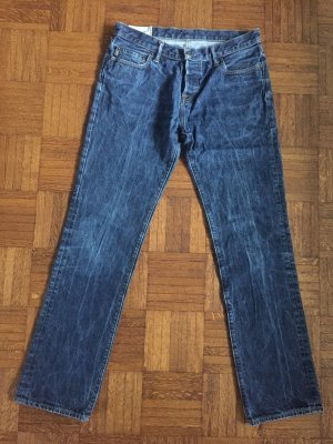 Stone-washed Jeans von Abercrombie & Fitch