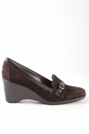 Stonefly Keil-Pumps braun Casual-Look