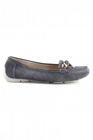 Stonefly Moccasins blue casual look