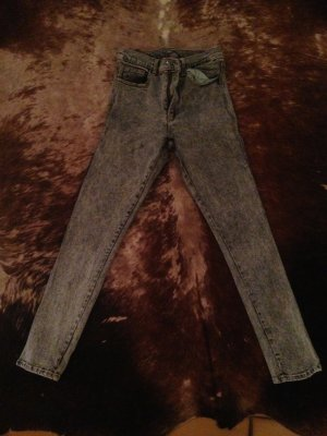 stonewashed cheap monday jeans