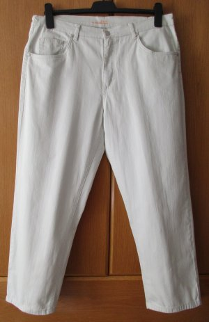 Stretch Jeans oatmeal cotton