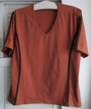 STOOKER Fitness Shirt Cognac Yoga Sport Jogging Laufen T-Shirt  44/ 46