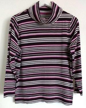 Stooker Turtleneck Shirt multicolored mixture fibre
