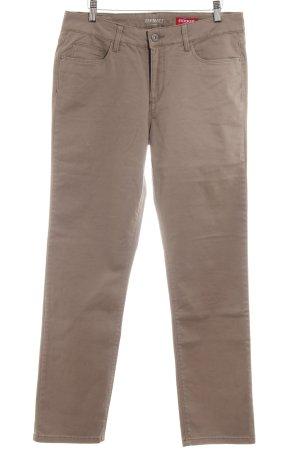 Stooker Jeans slim gris brun style décontracté