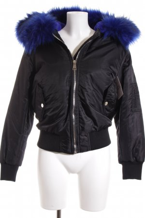 Storets Bomber Jacket black-blue street-fashion look