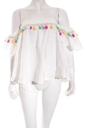 Storets Carmen-Bluse mehrfarbig Street-Fashion-Look