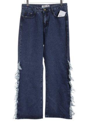 Storets High Waist Jeans blau Boho-Look