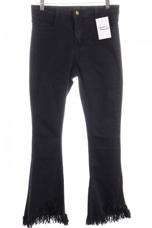 Storets High Waist Jeans schwarz Street-Fashion-Look