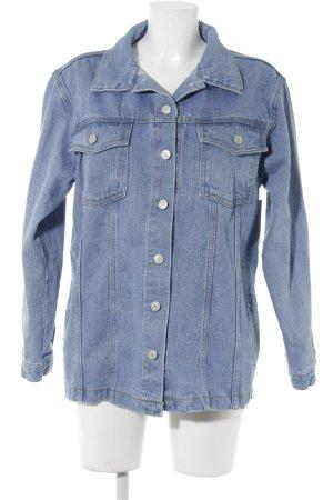 Storets Veste en jean bleuet style décontracté