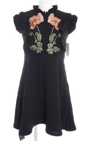 Storets Kurzarmkleid florales Muster Elegant