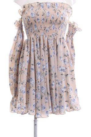 Storets Vestido strapless estampado floral estilo sencillo