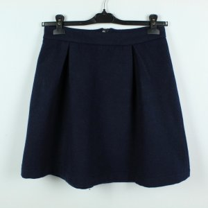 Storm & Marie Wool Skirt dark blue mixture fibre
