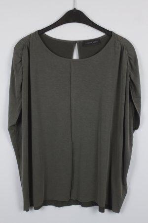 STORM & MARIE Shirt Gr. S oversized khaki (18/7/282)
