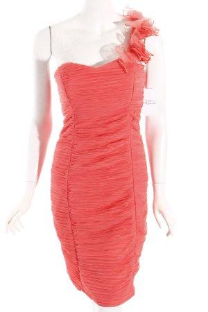 strada One-Shoulder-Kleid lachs Party-Look