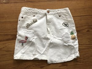 Stradivarius Blogger Highwaist Jeans Rock S 36
