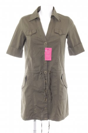 Stradivarius Cargokleid khaki Casual-Look