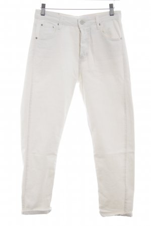 Stradivarius High Waist Jeans white casual look