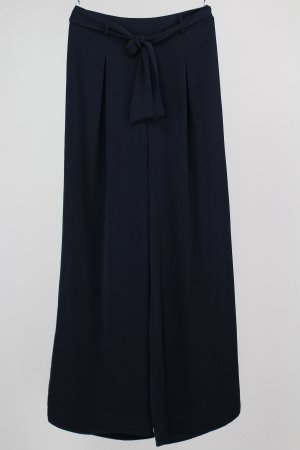 Stradivarius Marlene Trousers dark blue