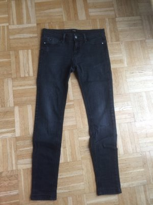 *Stradivarius* Jeans Black mit Waschung