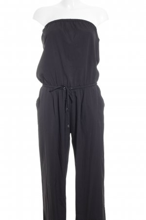 Stradivarius Jumpsuit schwarz Paris-Look