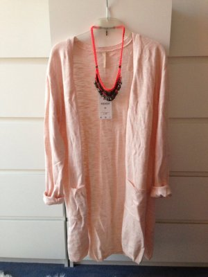 Stradivarius Long cardigan Rose NEU