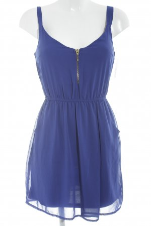 Stradivarius Minikleid blau Casual-Look