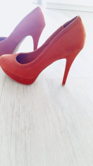 Stradivarius Pumps Velouroptik ! Gr :37