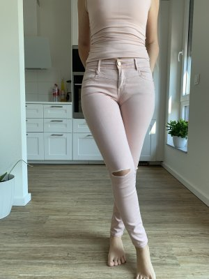 Stradivarius Jeans met bovenstuk rosé