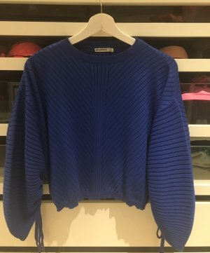 Stradivarius S blau 36 neu Pulli Pullover oversized 1x getragen