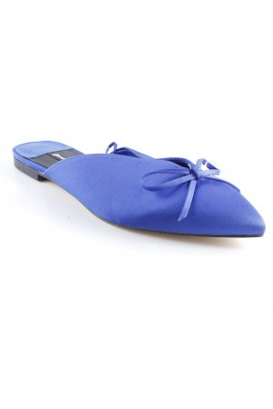 Stradivarius Sabots blue elegant