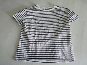 Stradivarius Shirt T-Shirt Streifen gestreift geringelt M