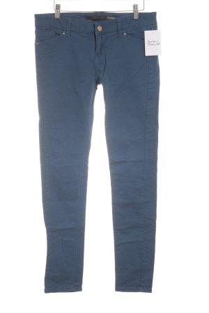 Stradivarius Slim Jeans blau schlichter Stil