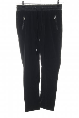 Stradivarius Stretch Trousers black casual look