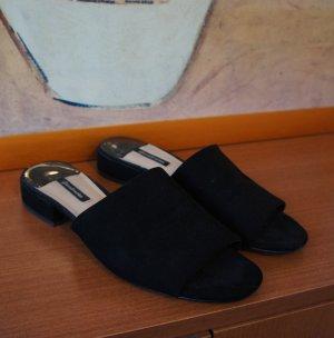 stradivarius trend sandaletten 38 schwarz