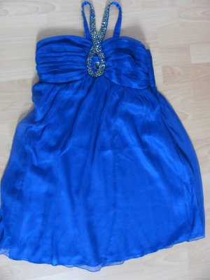Strahlend blaues Cocktailkleid Lipsy