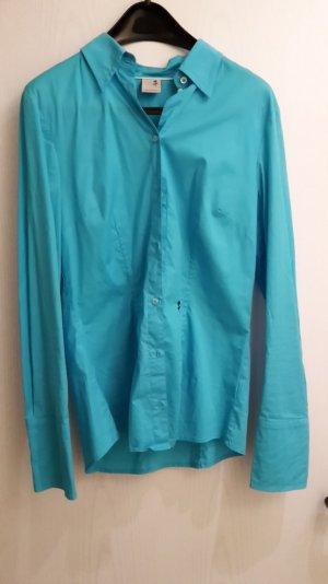 Strahlend türkise Seidensticker-Bluse