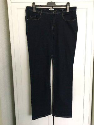 Straight Dark Denim Jeans Gr.48 Nr.10