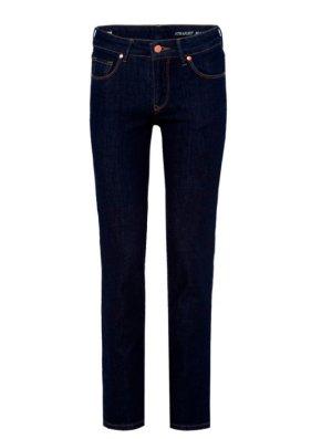 armedangels Jeans met rechte pijpen donkerblauw Katoen