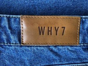 Jeans met rechte pijpen blauw Katoen