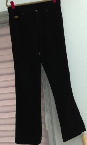 Straight-Leg Cordjeans von Wrangler Schwarz Gr. 38-40