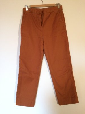 COS Chinos cognac-coloured-russet cotton