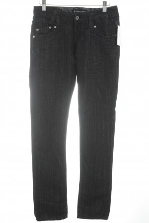 Straight-Leg Jeans anthrazit Schimmer-Optik