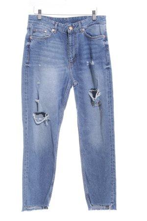 Straight-Leg Jeans blau Country-Look