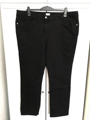 Straight leg Jeans Gr. 50/52 - schwarz