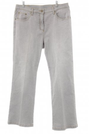 Straight-Leg Jeans grau Casual-Look