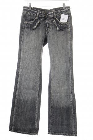 Straight Leg Jeans slate-gray casual look